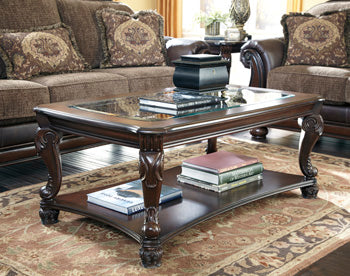 NORCASTLE Traditional Coffee Table