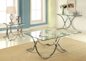 LUXA Contemporary Sofa Table