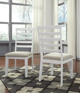 GARDOMI Contemporary Dining Chair (Set of 2)