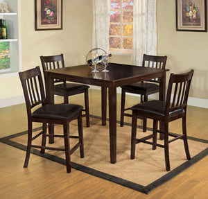 NORTHVALE II Transitional Counter Height Table (5PC Set)