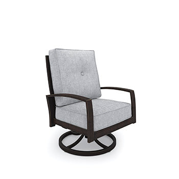CASTLE ISLAND Contemporary Swivel Outdoor Chair