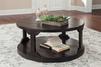 ROGNESS Casual Round Coffee Table