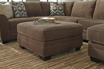 JUSTYNA Contemporary Oversized Ottoman