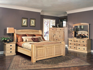 AMISH HIGHLANDS Bed (Panel or Storage)