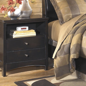 HARMONY Contemporary One Drawer Nightstand