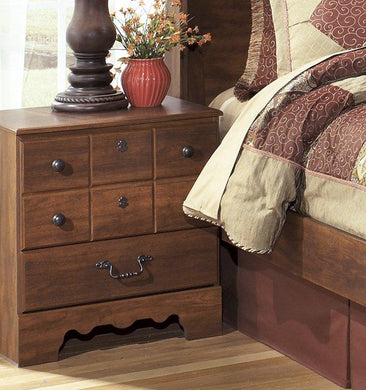 TIMBERLINE Casual Two Drawer Nightstand