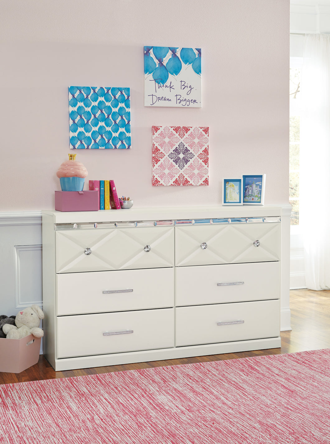 DREAMUR Contemporary Dresser