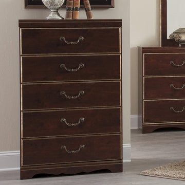CHANLYN Traditional 5 Drawer Chest