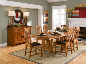 CATTAIL BUNGALOW Trestle Dining Table
