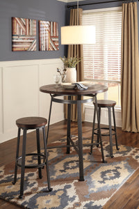 CHALLIMAN Casual Round Table (Bar Table)