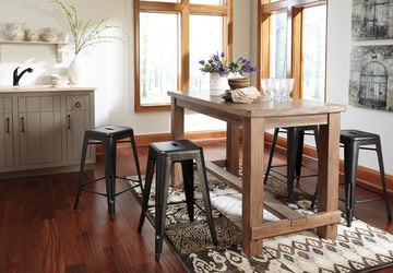 PINNADEL Casual Counter Height Table