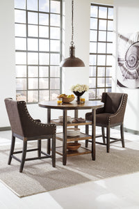 MORIANN Casual Round Counter Height Table