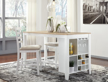 GARDOMI Contemporary Counter Height Table