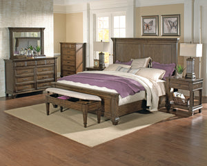 GALLATIN Bed (Panel or Storage)