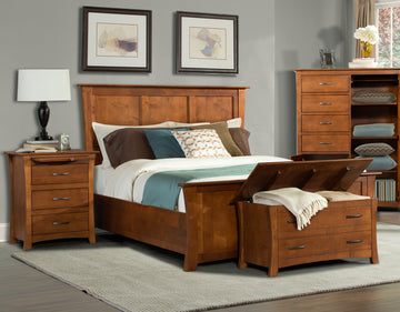 GRANT PARK Bed (Panel or Storage)