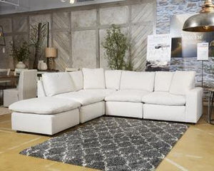 SAVESTO Contemporary Sectional (W/ Raf Corner Chair)