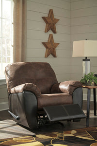 GREGALE Contemporary Rocker Recliner