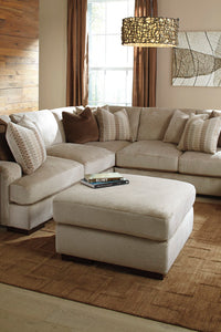 ARMINIO Contemporary Oversized Ottoman