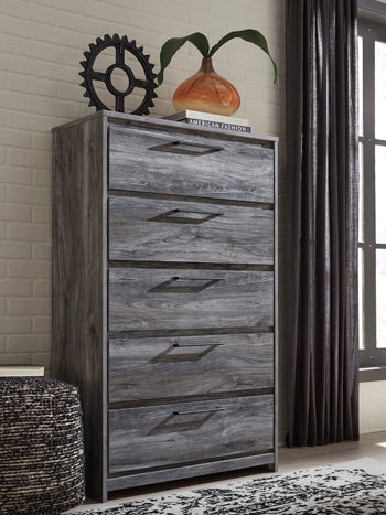 BAYSTORM Casual 5 Drawer Chest