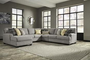 CRESSON Contemporary Sectional (W/ Laf Chaise)