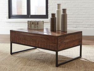 HIRVANTON Contemporary Coffee Table
