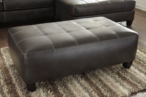 NOKOMIS Contemporary Oversized Ottoman