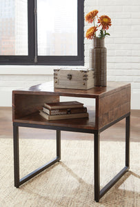 HIRVANTON Contemporary End Table