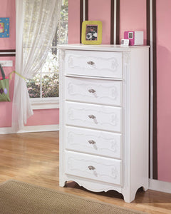 EXQUISITE Youth 5 Drawer Chest