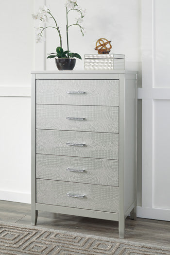 OLIVET Contemporary 5 Drawer Chest