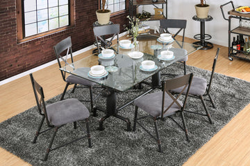 FLAHERTY I Industrial Dining Table