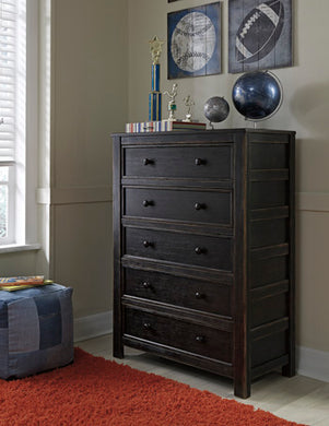 JAYSOM Casual 5 Drawer Chest
