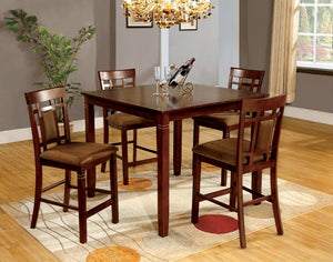 MONTCLAIR II Transitional Counter Height Table (5PC Set)
