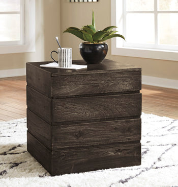 SHALLIA Contemporary End Table