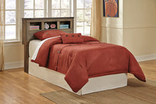 TRINELL Casual Bookcase Headboard