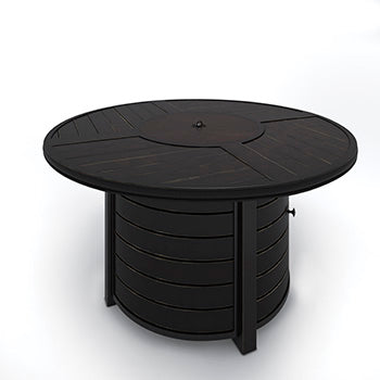 CASTLE ISLAND Contemporary Fire Pit Table