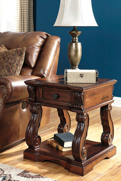 ALYMERE Casual End Table