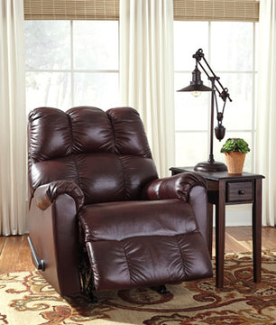 DENARAW Contemporary Rocker Recliner
