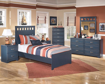 LEO Youth Two Drawer Nightstand