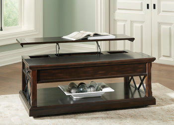 RODDINTON Traditional Coffee Table