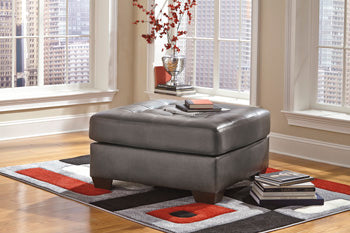 ALLISTON Contemporary Oversized Ottoman