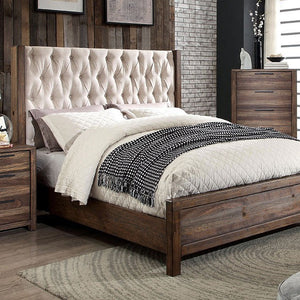 HUTCHINSON Rustic Bed