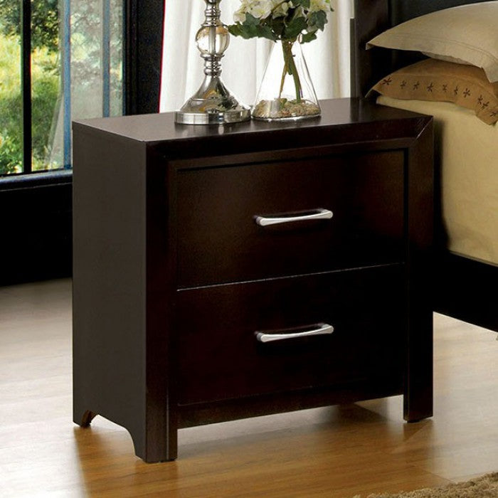 JANINE Contemporary Nightstand