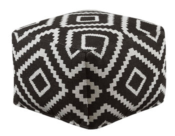 GEOMETRIC Casual Pouf