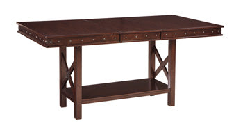 COLLENBURG Casual Counter Height Table