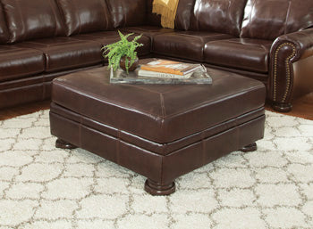 BANNER Traditional Oversized Ottoman