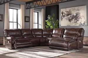 KILLAMEY Contemporary Sectional (W/ Raf Chaise)