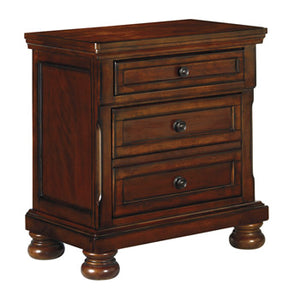 PORTER Casual Two Drawer Nightstand
