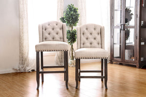 SANIA II Rustic Dining Chair (Set of 2)