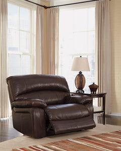 DAMACIO Contemporary Wide Recliner