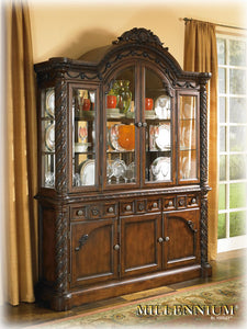 NORTH SHORE Traditional Display Cabinet